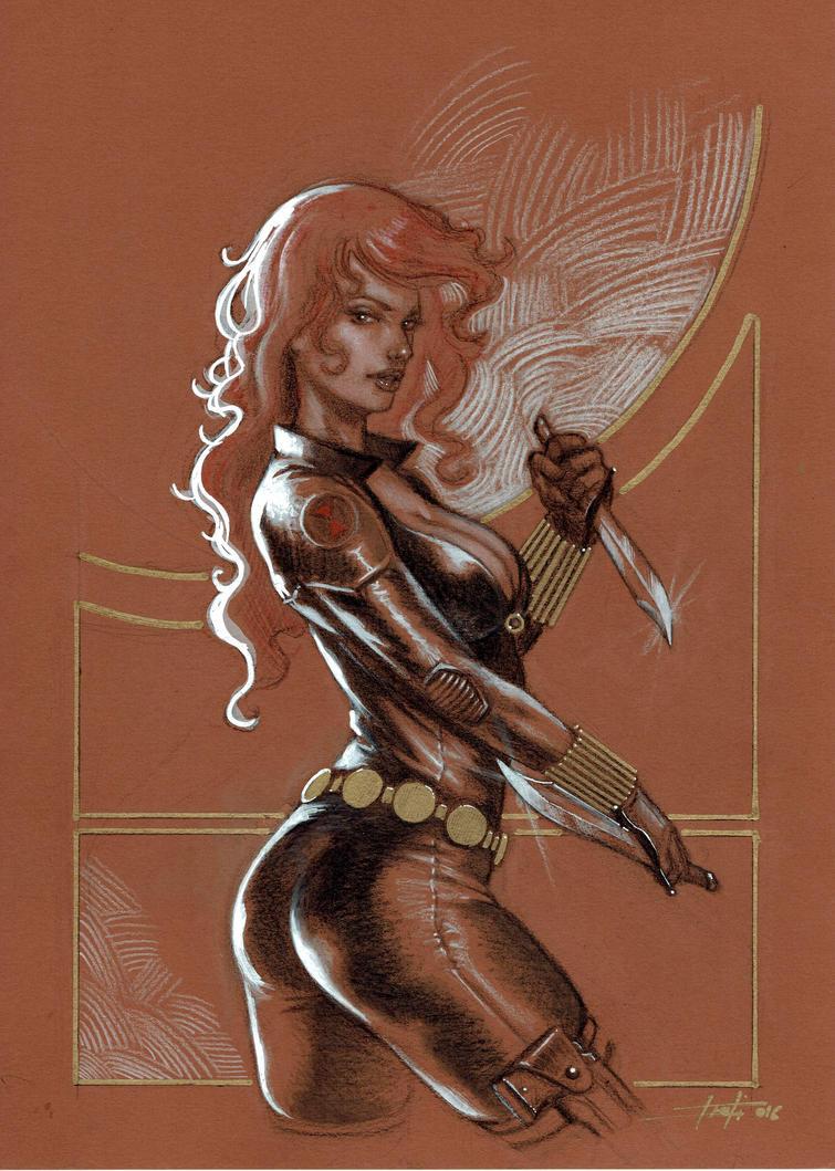 Black Widow 4 by LucaStrati