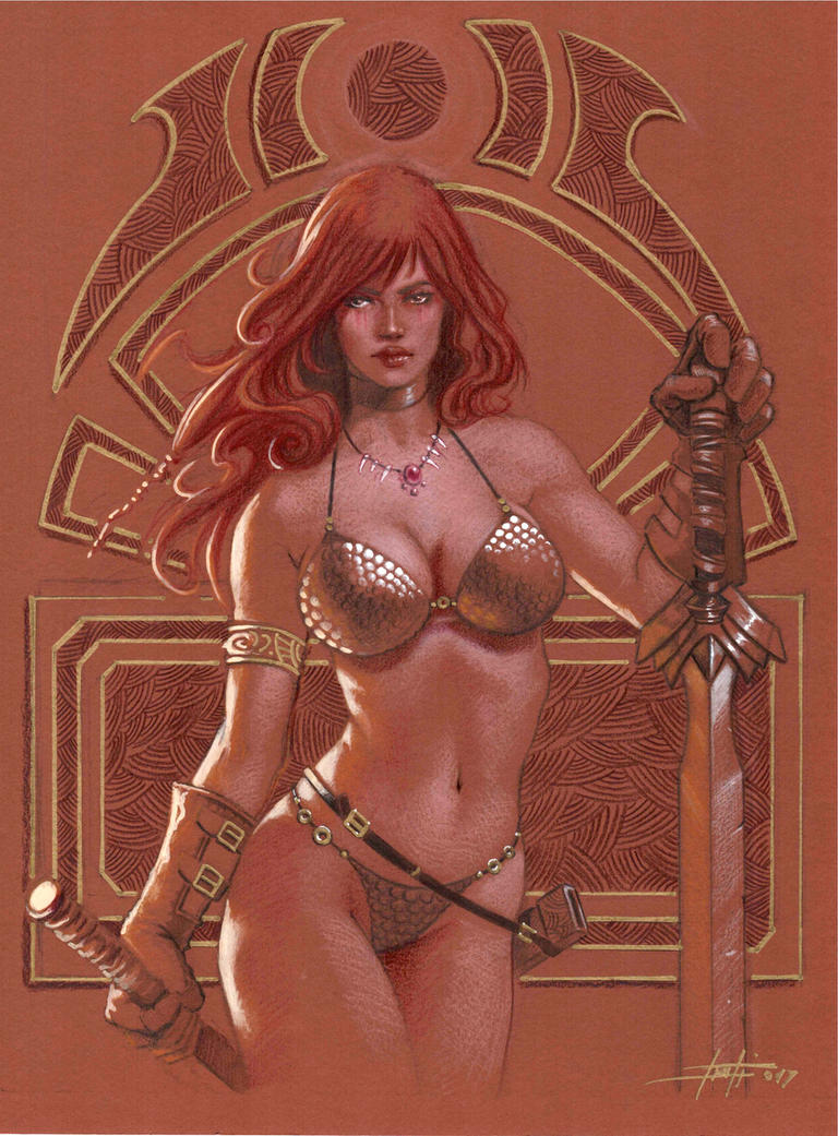 Red Sonja 5 by LucaStrati