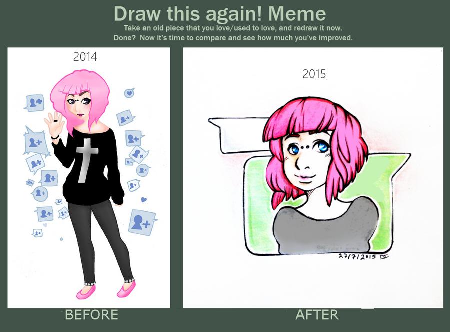 draw this again - meme by 1idiz