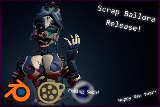 Scrap Ballora SFM|Blender Release - [FFPS SFM]