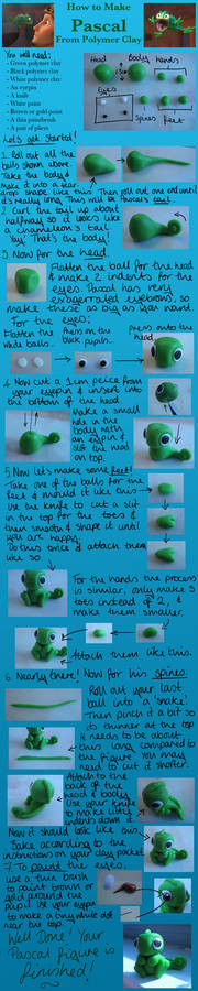 Tangled Pascal Clay Tutorial