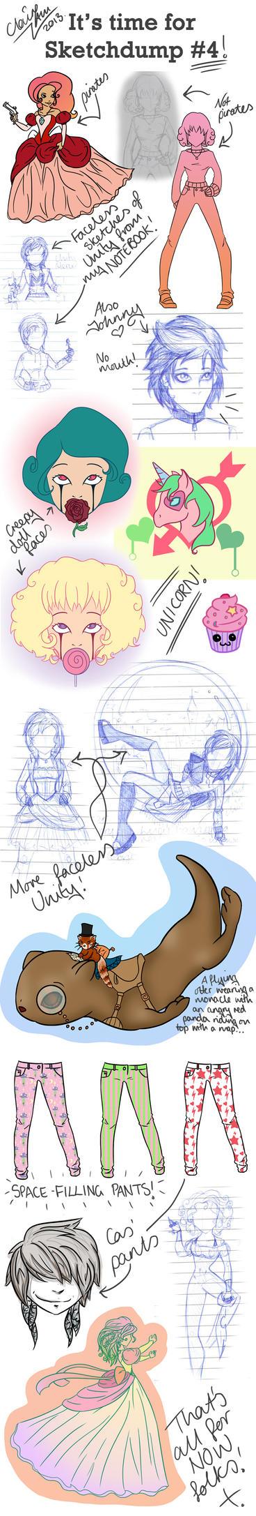 Sketchdump #4 by LightningMcTurner