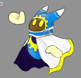 Magolor by Cutemanglelover