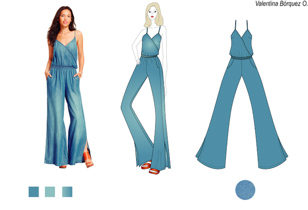Homework/ first full fashion ilustration by ValeNyan