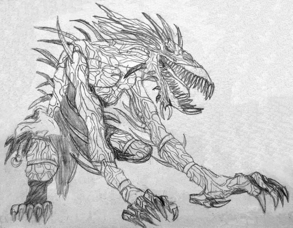Monsters drawn by pencil by Zenobija on DeviantArt