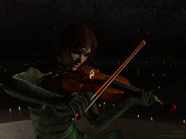 Violinist by greendragon-gecko