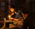 Treasure hunters by greendragon-gecko