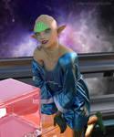alien lady II
