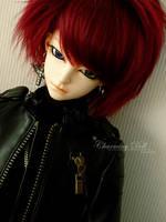 Cute singing Red Head by charmingdoll