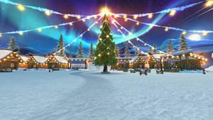 Christmas Village Square 1