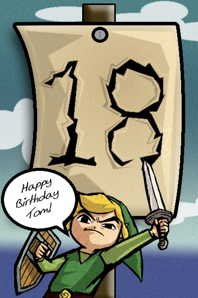 deviantart more like zelda birthday card moved by kelzky, Birthday card