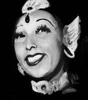 Josephine Baker by kaupaint