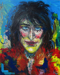 Noel Fielding Portrait by kaupaint
