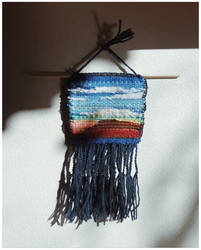 Freeform Woven Mesa Landscape - Re-Used Materials