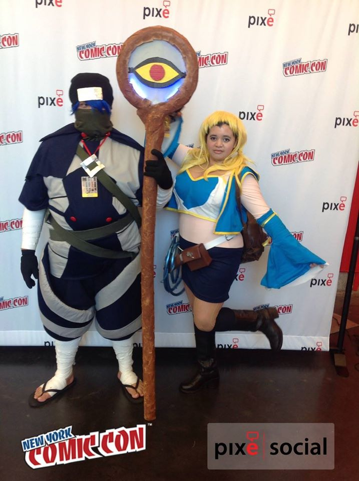 My Comic Con Picture Mystogan Fairy Tail By DarkMatterFreak