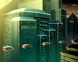 cityscape 2 by jameswolf