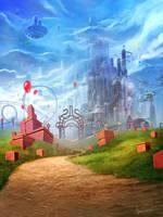 imaginary land by jameswolf