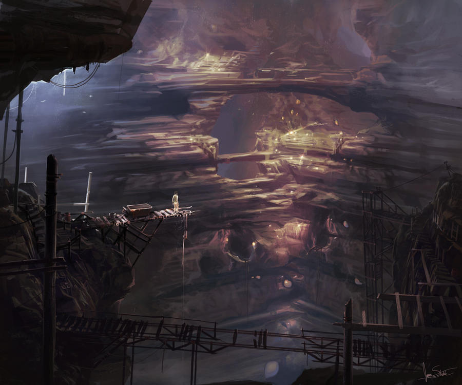 The abandoned mines by jameswolf