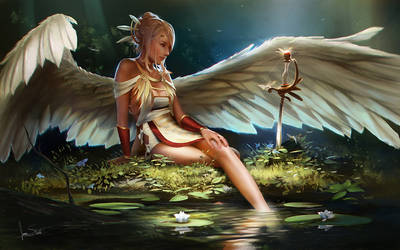 Angel (light)