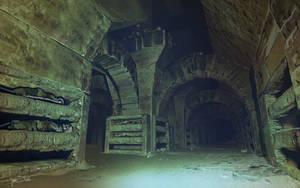 Catacomb-hall-s by jameswolf