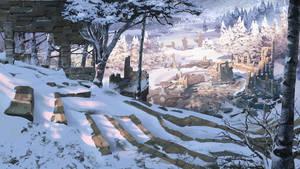 Winter Ruins Small