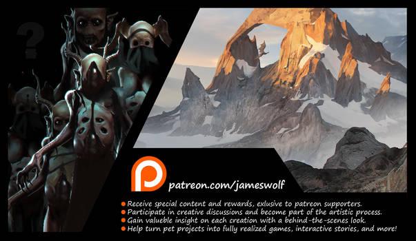 Patreon Jameswolf Promo