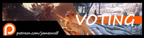Patreon Voting 1 by jameswolf