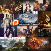 Patreon Collection 1s by jameswolf