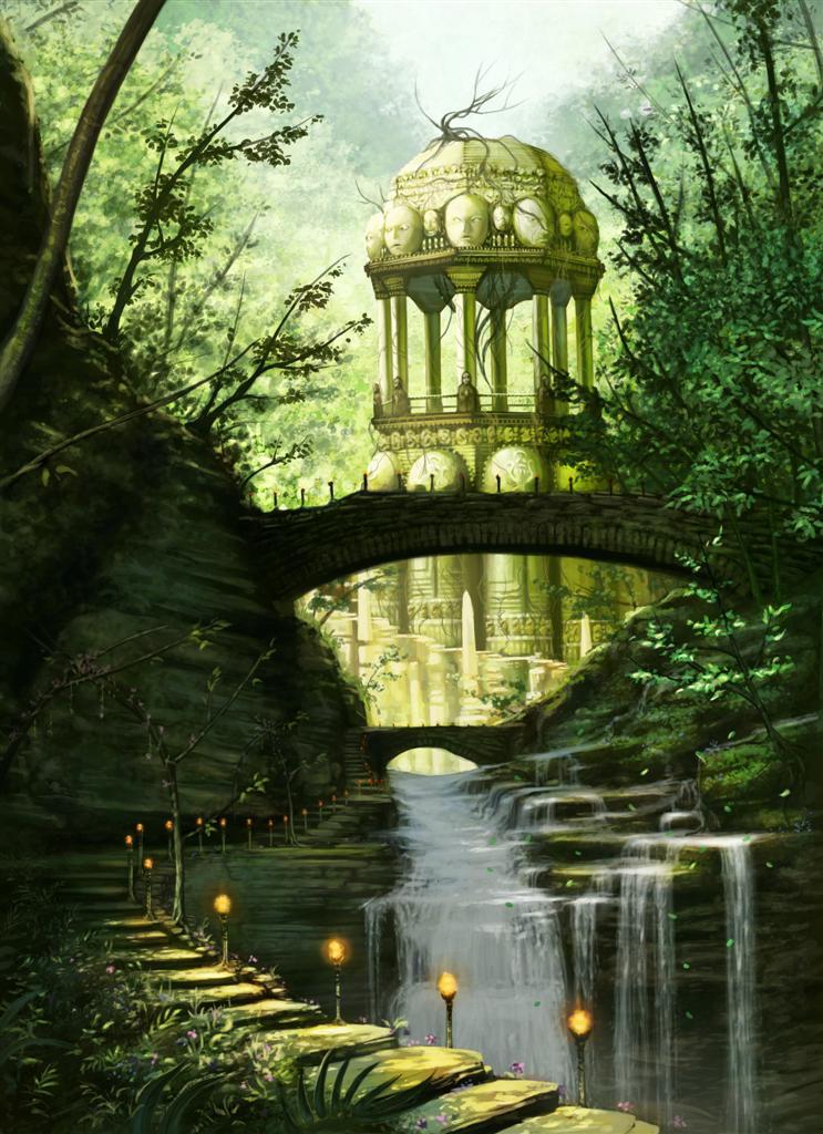 sacred falls pavilion by jameswolf