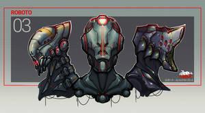 ROBOTO3 by Bing0ne