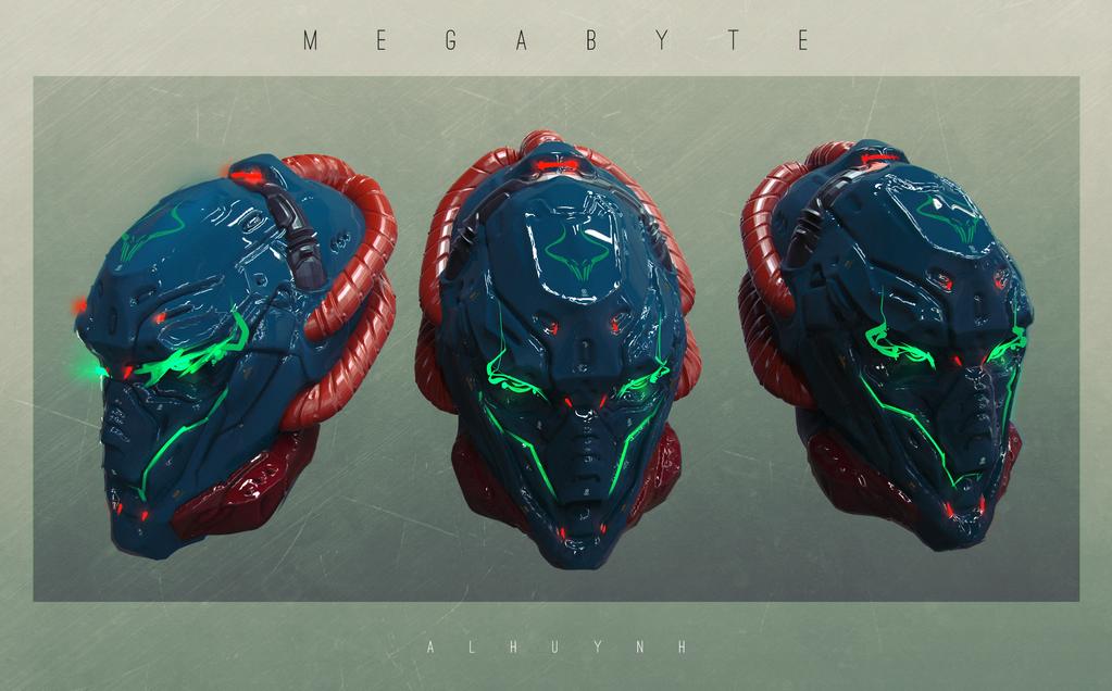 Megabyte II by Bing0ne