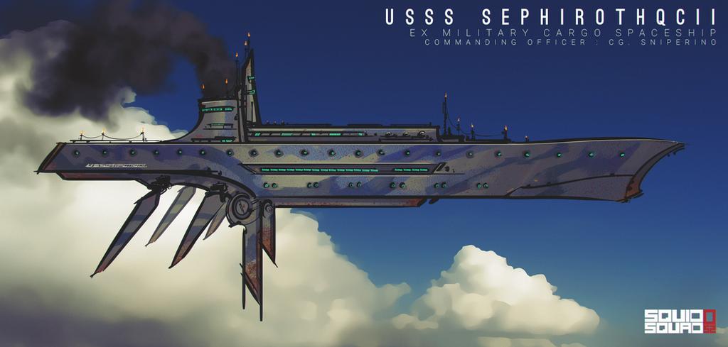 Spaceship by Bing0ne