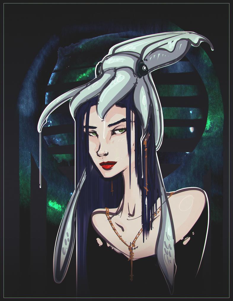 Squidgirl by Bing0ne