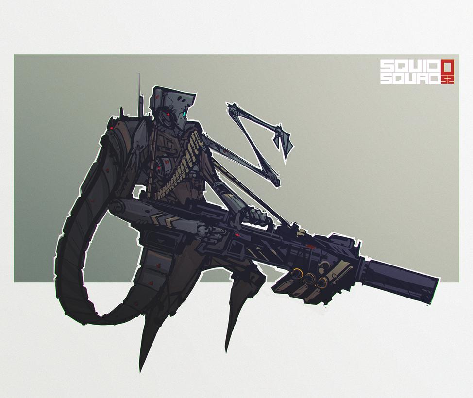 Squid Trooper by Bing0ne