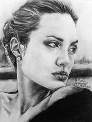 Angelina Jolie I by mary11dc