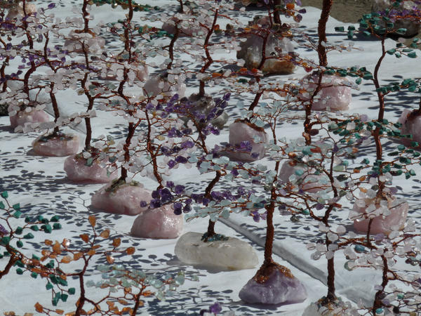 Crystal Trees by Livelyliz