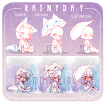 [YCH] Rainy Day Set (OPEN)