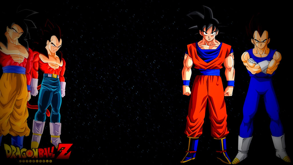 Goku And Vegeta Wallpaper HD 1920x1080 By BlackShadowX306
