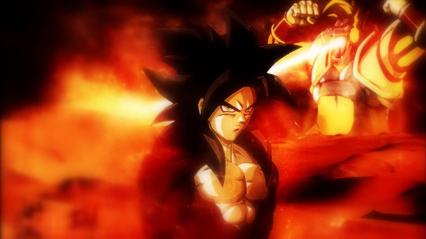 Pictures Of Goku Super Saiyan 4 Wallpaper Hd Wwwkidskunstinfo