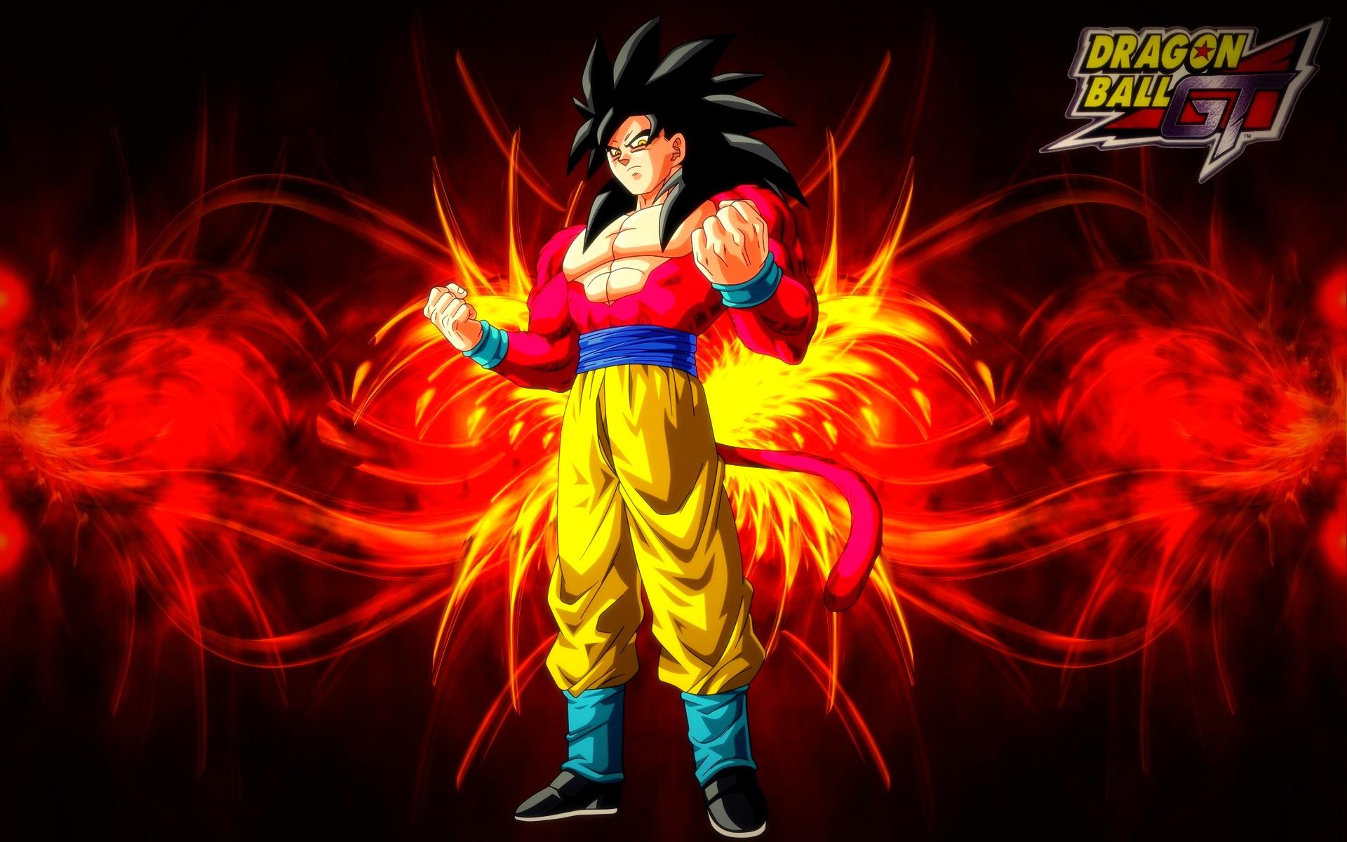 Dragonball Gt Goku Super Saiyan 4 Wallpaper By Blackshadowx306