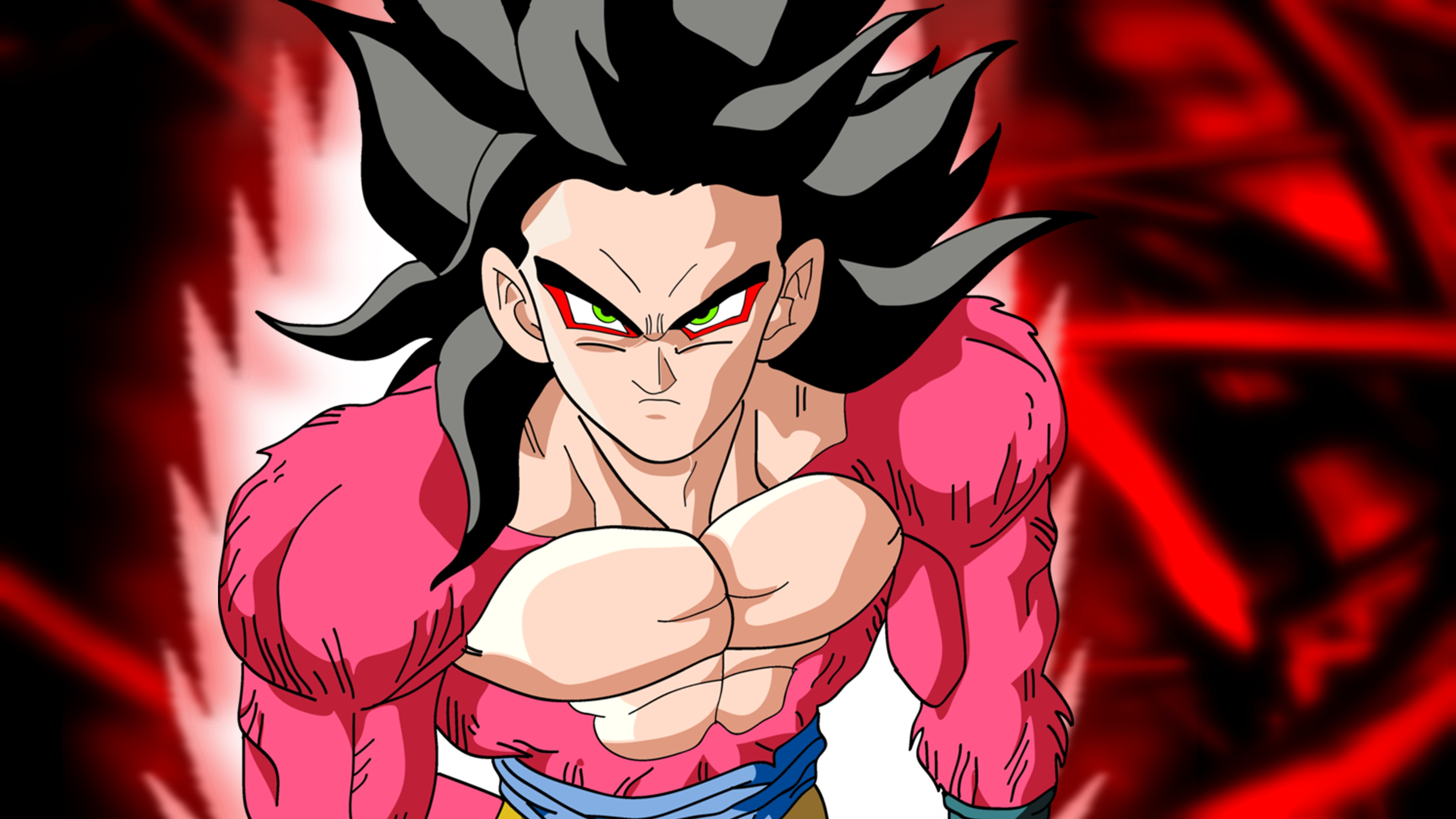 Dragon ball z, Goku SSJ4, SSJ5, Super Saiyan