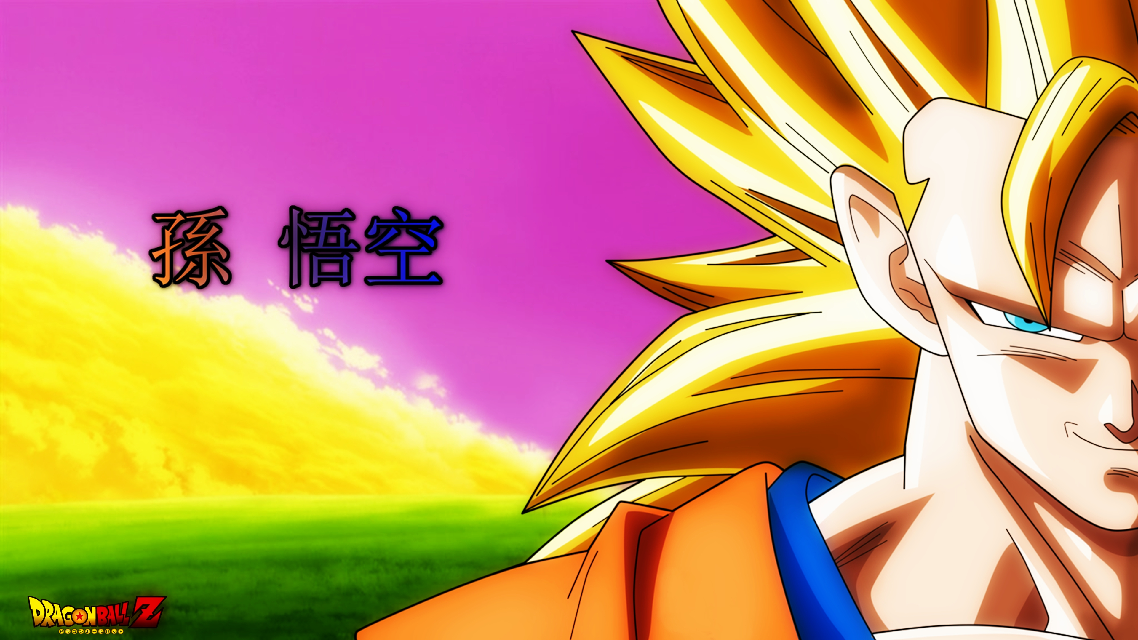 DragonBall: Z - Goku Super Saiyan 3 - Wallpaper 4K by ...
