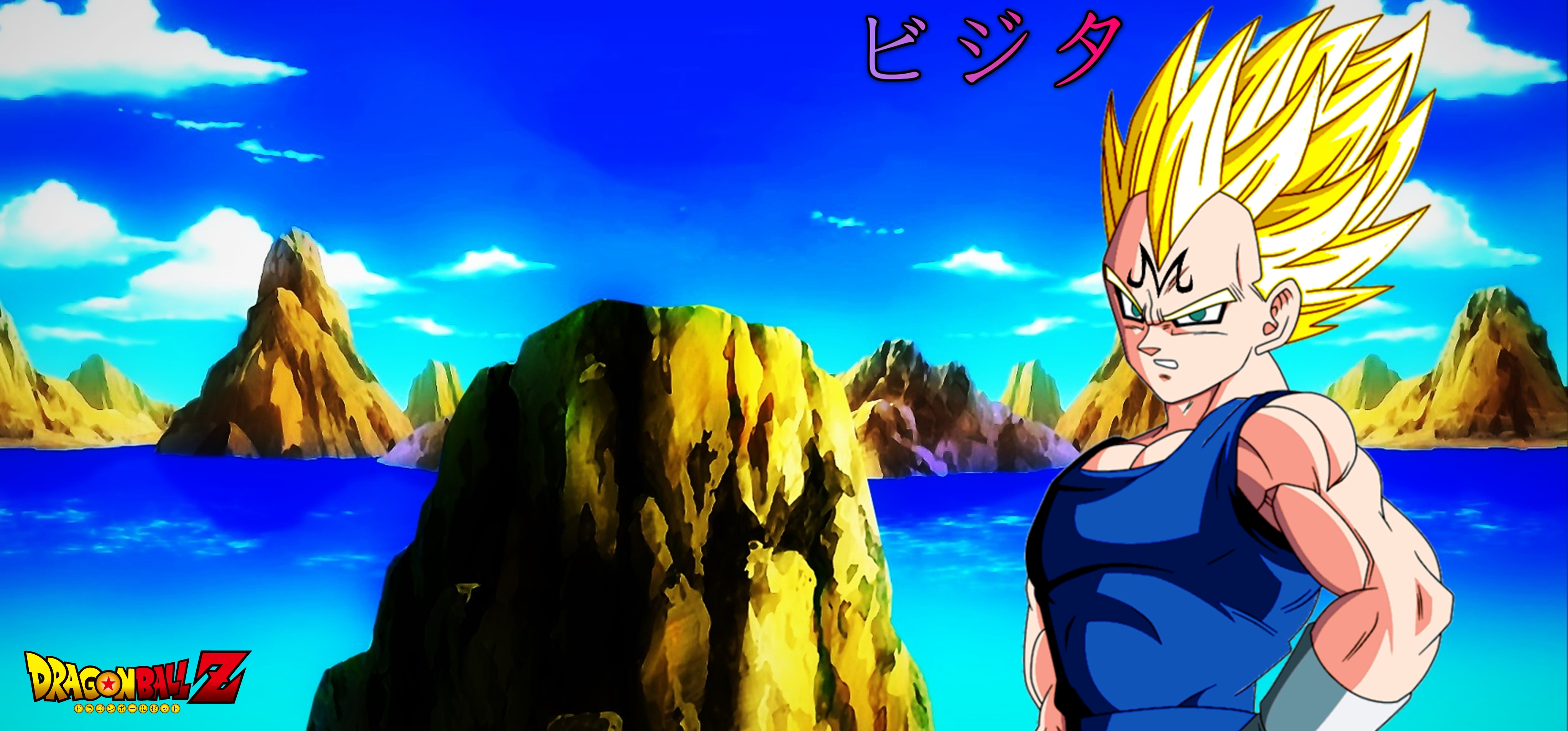Goku Vs Majin Vegeta Wallpaper Download