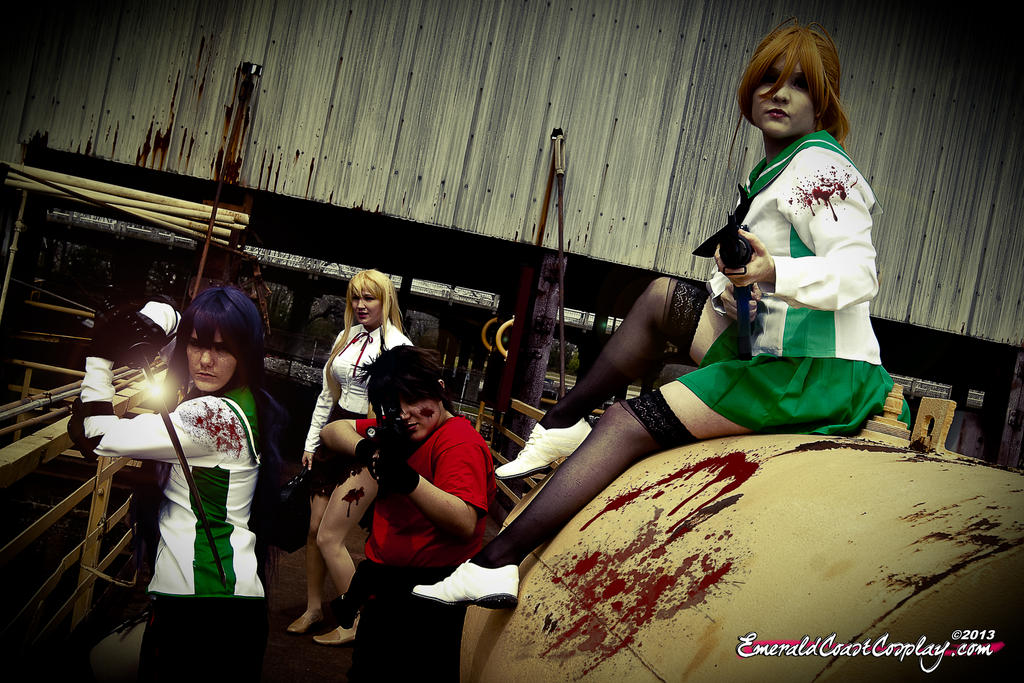 High School of the Dead by EmeraldCoastCosplay