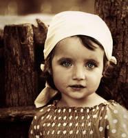 Retro girl by grassel