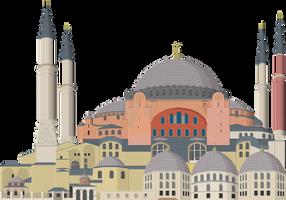 Hagia Sophia by Herbertrocha