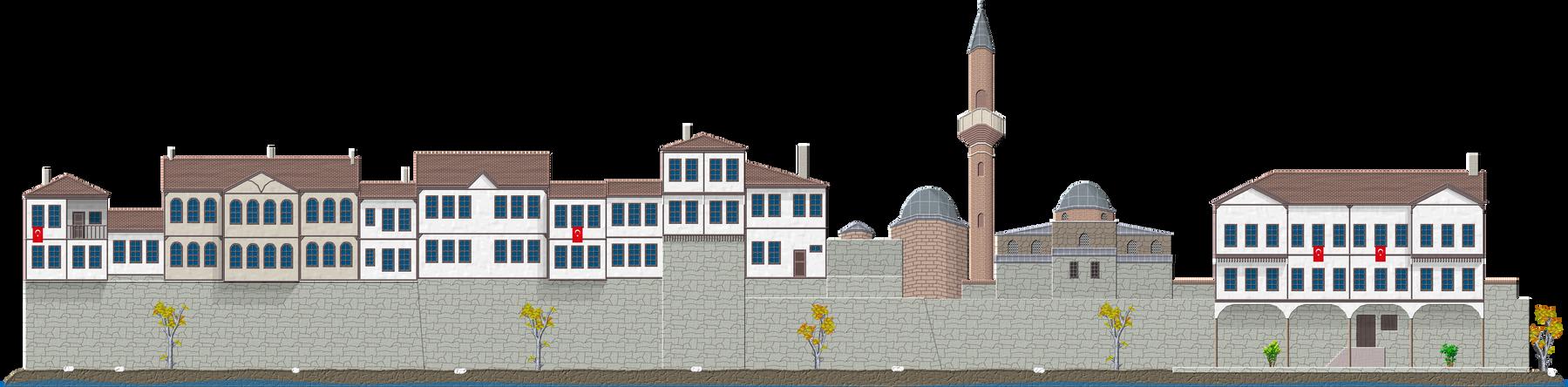 Amasya Houses by Herbertrocha