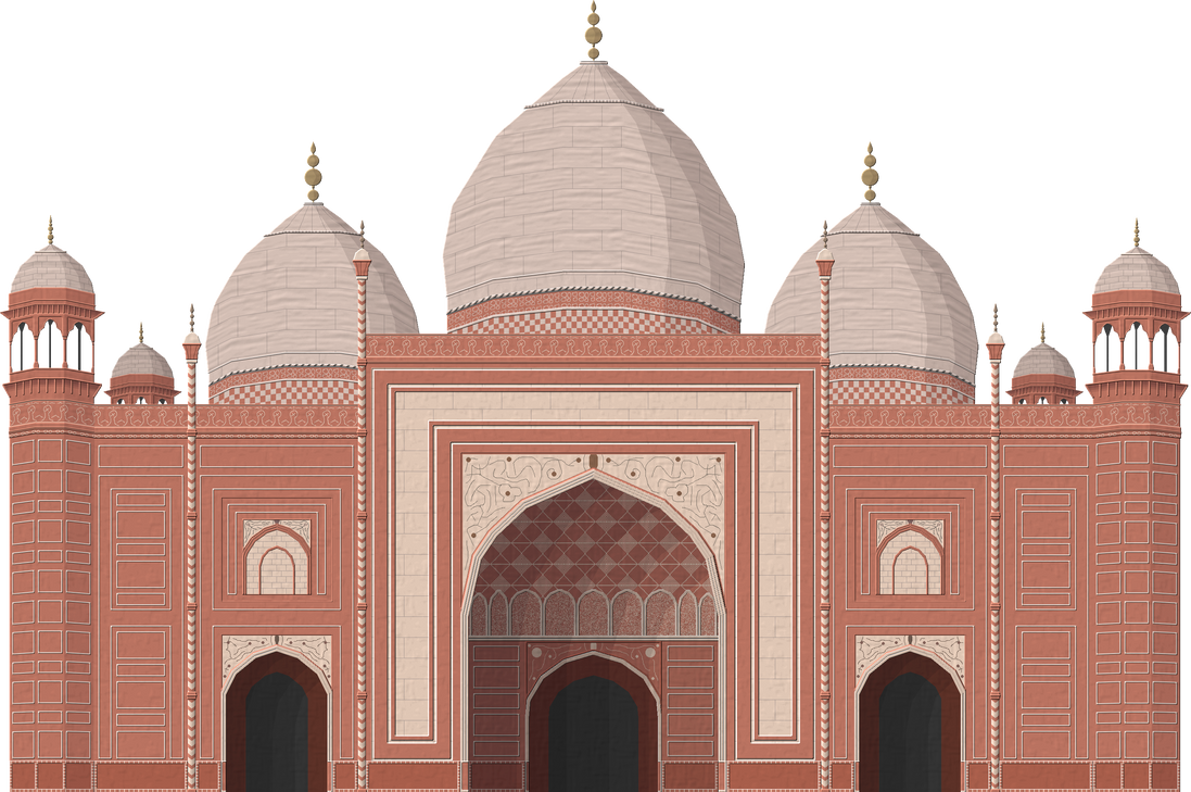 Taj Mahal Mosque By Herbertrocha On Deviantart