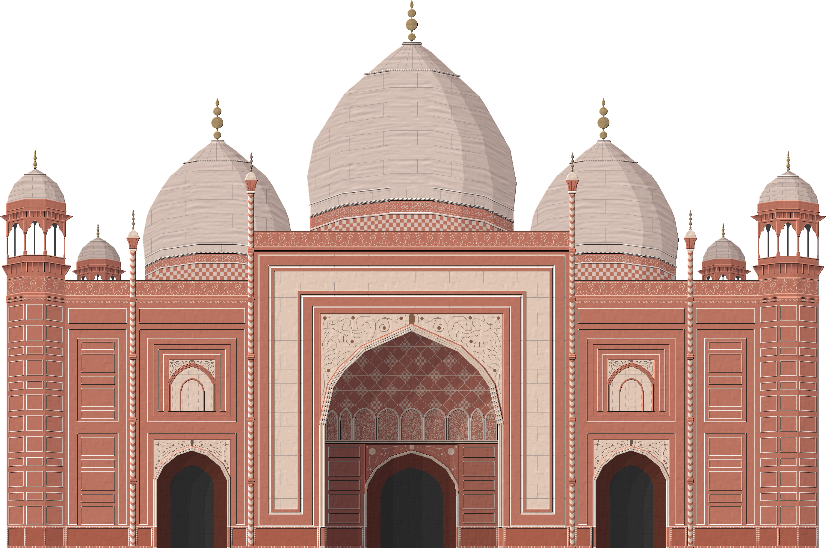 Taj Mahal Mosque By Herbertrocha On Deviantart