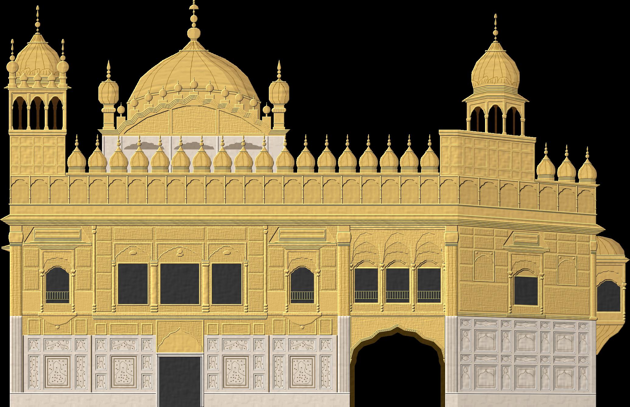 Golden Temple by Herbertrocha